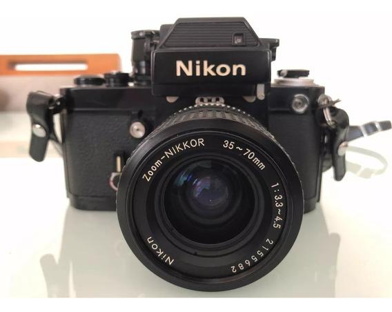 Abaixou!! Camera Nikon Analógica Para Colecionador