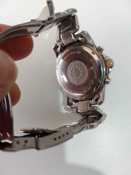 Relógio Bulova Aqua Marine Ouro E Aço