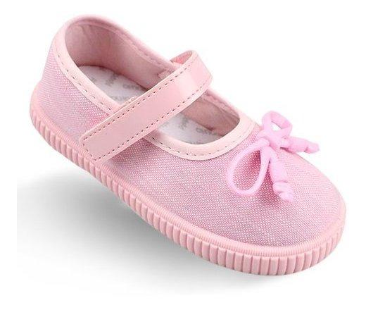 Tênis Infantil Menina Pimpolho Rosa