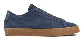 Tênis Nike Sb Zoom Blazer Low Thunder Blue Original