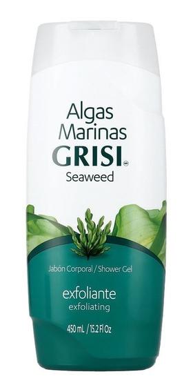 Jabón Gel De Ducha Exfoliante Grisi Algas Marinas 450 Ml