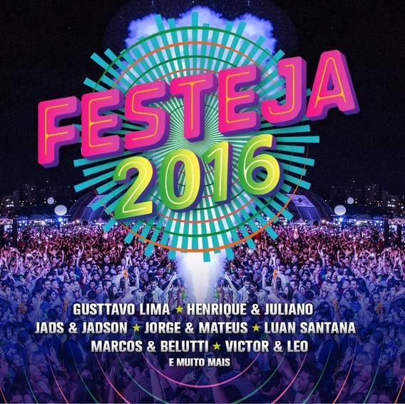 Cd Festeja 2016 Novo Original