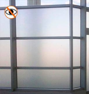 Adhesivo Contact Papel Esmerilado Vidrio X 0,60 Cms