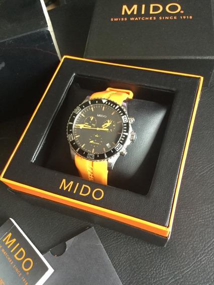 Relógio Mido Ocean Star Captain Cronografo
