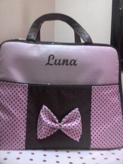 Mala De Maternidade Personalizada Com O Nome Luna