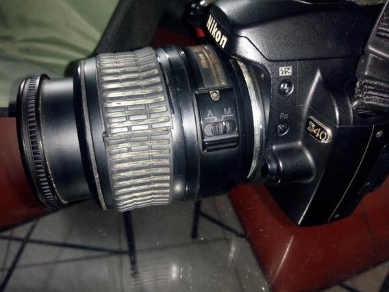 Câmera Nikon D40kit 18-55mm + Cartão 32gb