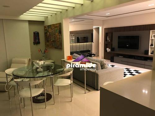 Apartamento Com 3 Dormitórios À Venda, 124 M² Por R$ 950.000,00 - Jardim Esplanada - São José Dos Campos/sp - Ap12531