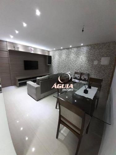 Apartamento À Venda, 90 M² Por R$ 535.000,00 - Parque Das Nações - Santo André/sp - Ap2417