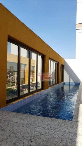 Imagem 1 de 24 de Apartamento Com 2 Dormitórios À Venda, 41 M² Por R$ 350.000,00 - Vila Valparaíso - Santo André/sp - Ap2810