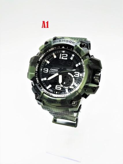 2 Relógios Masculino Militar Esportivo Analógico Digital #