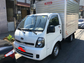 Vendo Kia Bongo 2500 Diesel 18/19 - Diesel Com Ar E Bau.