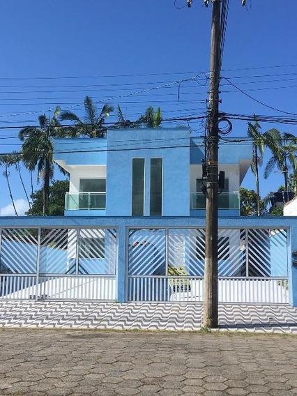 Casa Sobreposta Em Peruíbe Com 110m² 4064rafa