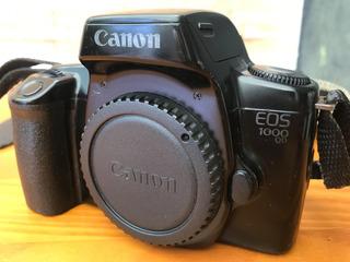 Câmera Analógica Canon Eos 1000 Qd - Original Funcionando