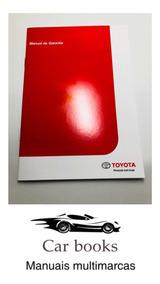Manual De Garantia E Manutenção Toyota 2017/2018