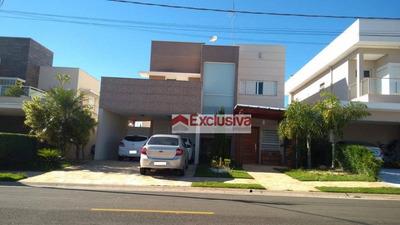 Casa Com 4 Dormitórios À Venda, 239 M² Por R$ 1.590.000 - Condomínio Villa Lobos - Paulínia/sp - Ca1466