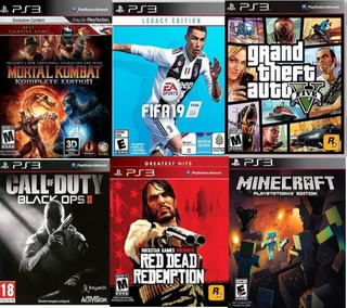 Juegos Digitales Para Ps3. Instalación En Tienda. Pack De 6