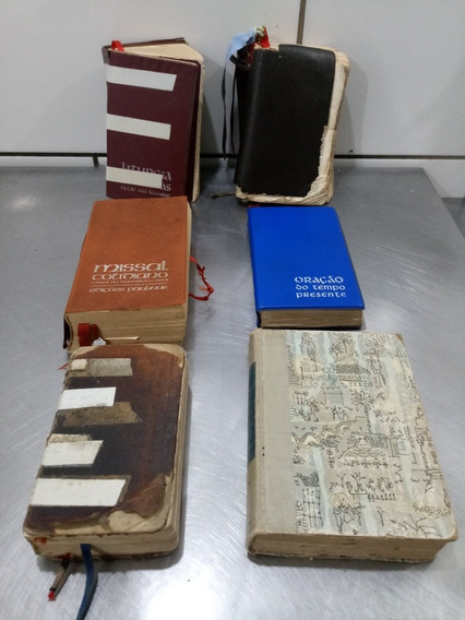 Lote De Antigos Livros