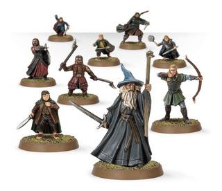 Warhammer - La Comunidad Del Anillo (blister Sin Caja)