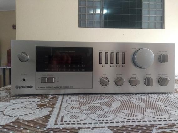 Amplificador Gradiente Modelo 246 Super A