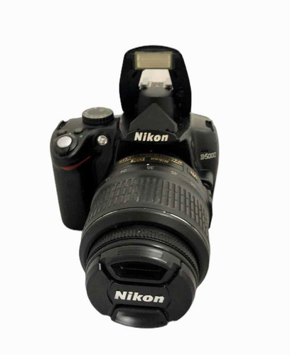 Câmera Nikon D5000 + Lente 1855 Mm Semi Nova