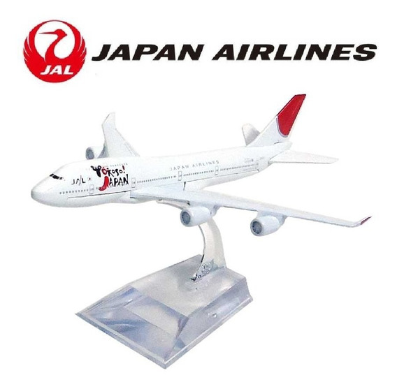Aviao Comercial Metal Diecast Japan Airlines