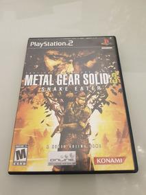 Metal Gear Solid 3 Ps2 Original Black Label Raro Americano