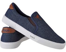 Tênis Masculino Polo Joy Iate Jeans Promoção.