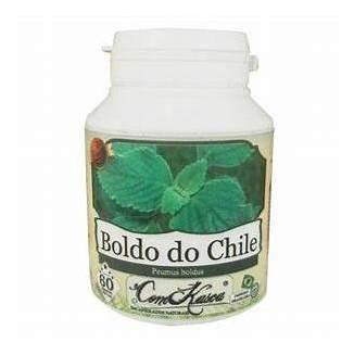 Boldo Do Chile Anti-inflamatório Puro Em Capsulas 5 Frascos