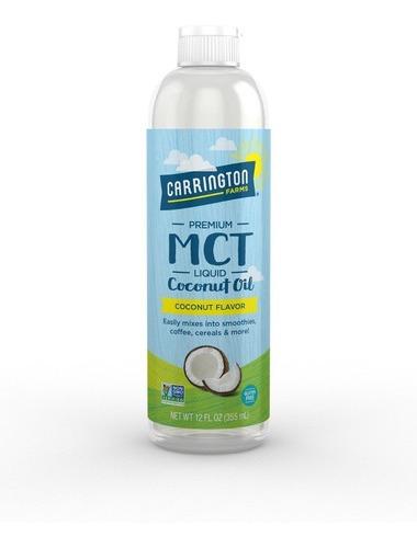Aceite De Coco Liquido Carrington Farms Mct De 12 Onzas