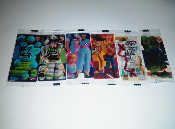 Toy Story 4 Armables Promocionales Fud 6 Pzs