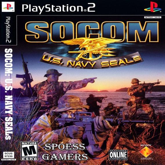 Socom 1 Ps2 U.s. Navy Seals Patch ( Tiro ) Me