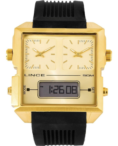 Relógio Lince Anadigi Map4587s C1px Barato Original Garantia