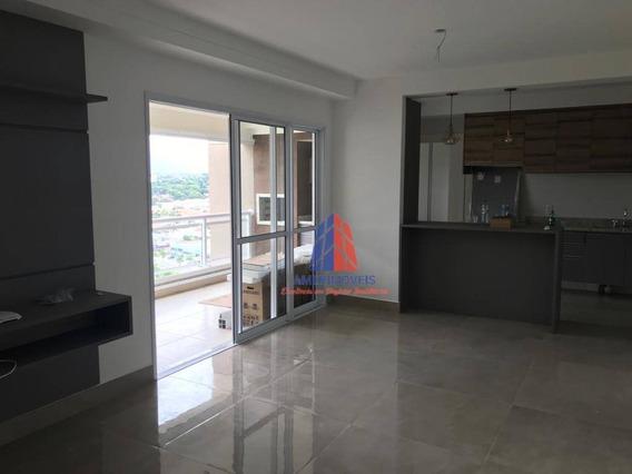 Apartamento Com 3 Dormitórios À Venda, 121 M² Por R$ 1.290.000 - Garnet - Jardim São Paulo - Americana/sp - Ap1043