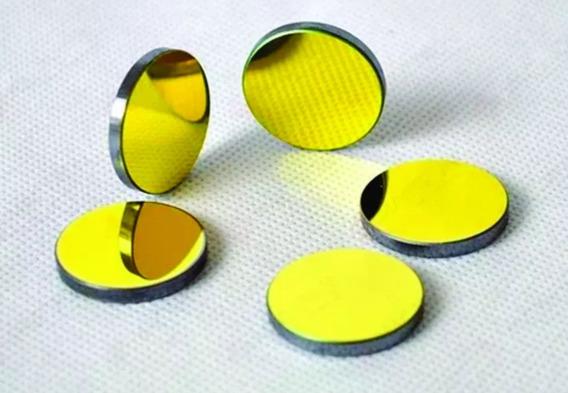 Kit 3 Espelhos Dourados 25mm Silicio Maquina Corte Laser Co2