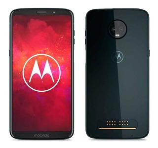 Celular Motorola Z3 Play -xt1929- Deep Indigo - 4gb-64gb-liberado