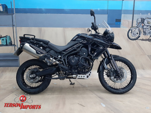 Triumph Tiger 800xc Abs 2015 Preta