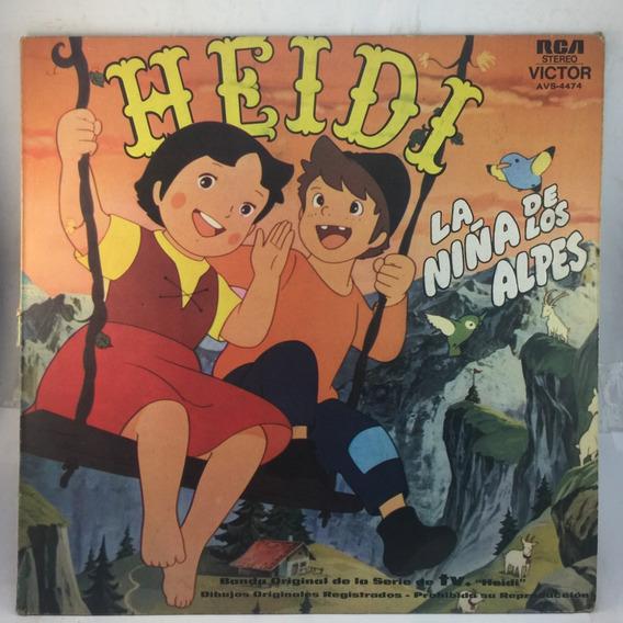 Heidi - La Niña De Los Alpes - Infantil - Vinilo Lp