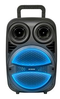 Parlante He-Sound HE-10P portátil inalámbrico Negro