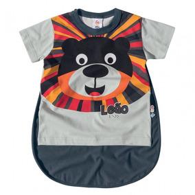Camisa Infantil Masculino Com Capa - Domanikids