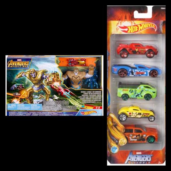 Hot Wheels Camión Grúa Incluye 3 Carros Originales
