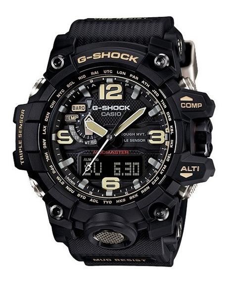 Relógio Casio G Shock Gwg 1000-1a Preto Mudmaster Solar
