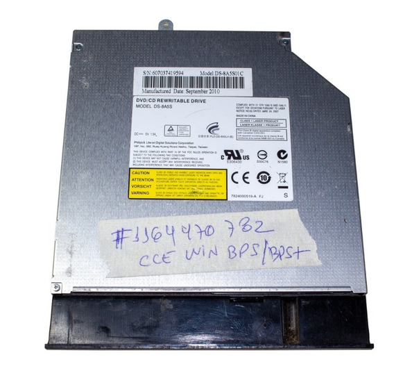 Drive Gravador Dvd Notebook Cce Win Bps Bps+ Bpse