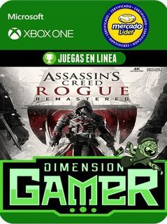 Assassins Creed Rogue Xbox One Modo Local + En Linea