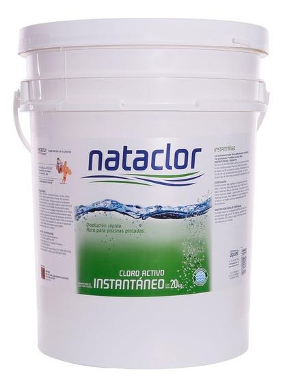 Cloro Granulado Instantáneo 20kg Nataclor