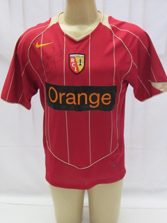 Camisa De Futebol Do Racing Club De Lens Da França - Nike