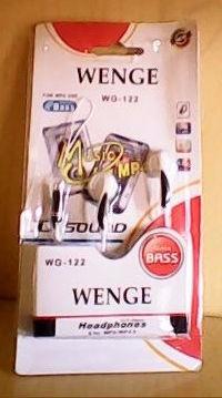 Fone De Ouvido Hi-fi Super Bass Wenge Wg-122 Mp3/mp4