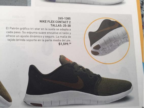 Tenis Nike Running Flex Contact 2 Cat265-1385 Talla 25 Al 30