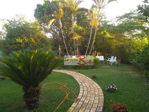 Imagem 1 de 12 de Linda Chácara Super Aconchegante Em Ótima Localização! - Ch0326