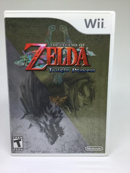 Legend Of Zelda Twilight Princess Wii Original Impecável