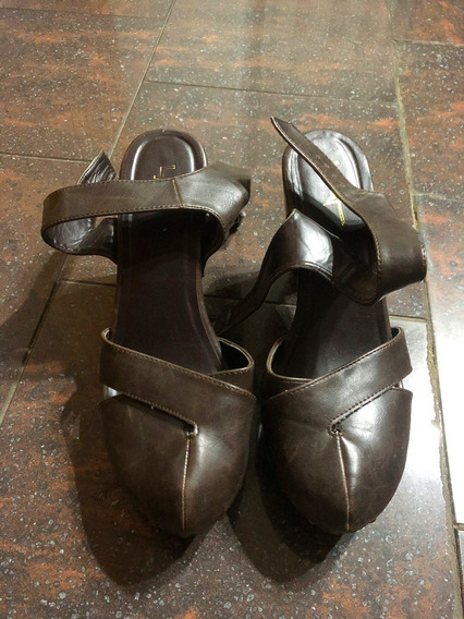 Zapatos Zuecos Forever 21 Talle 38